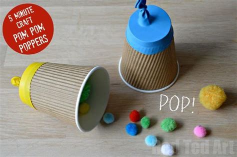 paper cup party popper craft pinterest birthday songs
