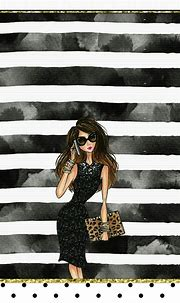 Chic Fashionista Wallpaper Iphone Girly | 2021 Live ...
