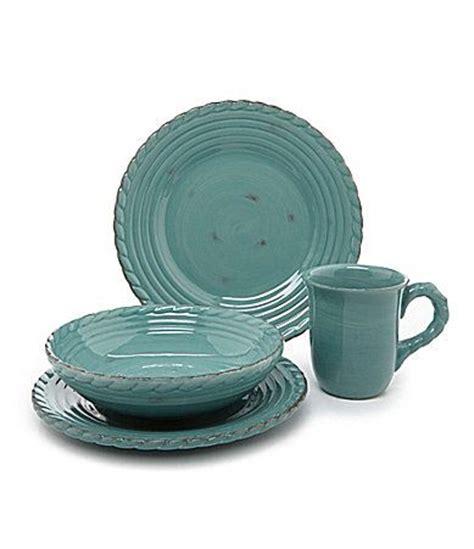 artimino tuscan countryside turquoise dinnerware