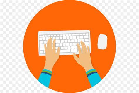 Computer Keyboard Information Clip Art