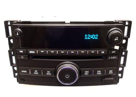chevy hhr am fm radio stereo mp3 usb cd player factory oem aux ipod 25964501 ebay