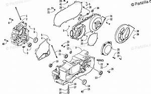 Arctic Cat Atv 2006 Oem Parts Diagram For Crankcase Assembly
