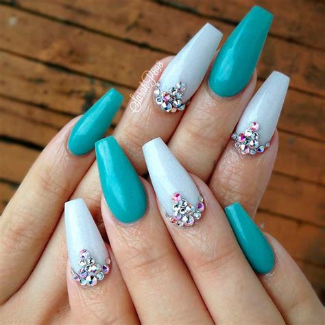 teal color nails 27 exquisite teal color nails ideas naildesignsjournal