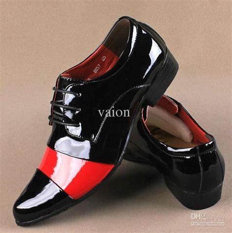 Wholesale Men Shoes Buy Unique Red White Black Joining