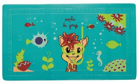 vulli tapis de bain la girafe doudouplanet