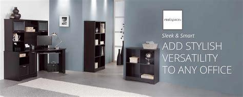 realspace mezza straight desk 92 realspace furniture office depot cabinetn