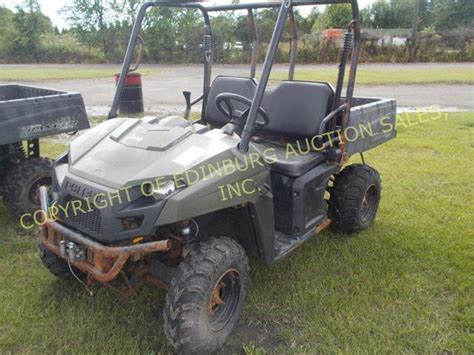 2011 polaris ranger 500 4x4 w winch dump