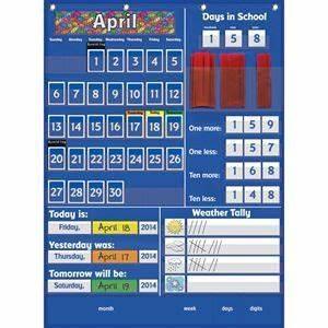 Classroom Calendar Pocket Chart All About Today Pocket Chart Calendar Time Really Good