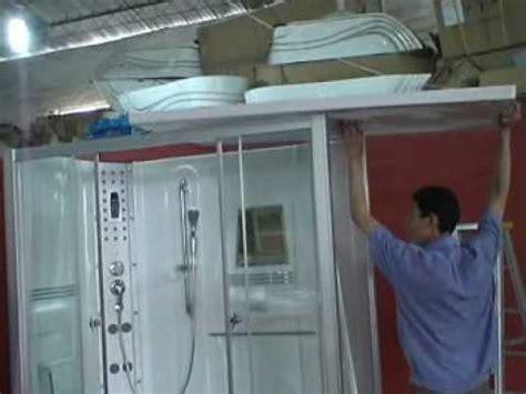 ariel  steam shower installation youtube