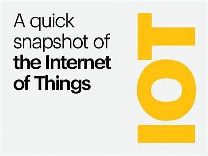 Quick Snapshot Things Internet Slideshare