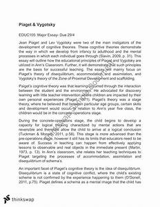 piaget vs vygotsky essay