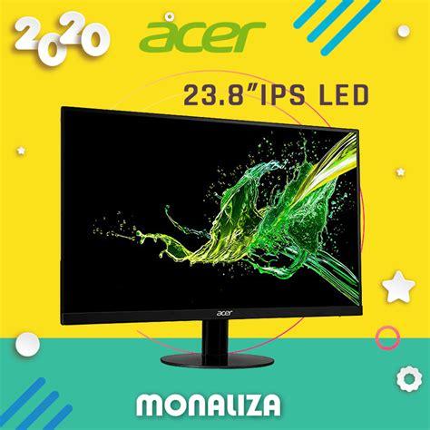 acer  abmi ultraslim  ips led monitor monaliza