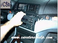 BMW 3 Series Aftermarket Car Stereo Installation YouTube