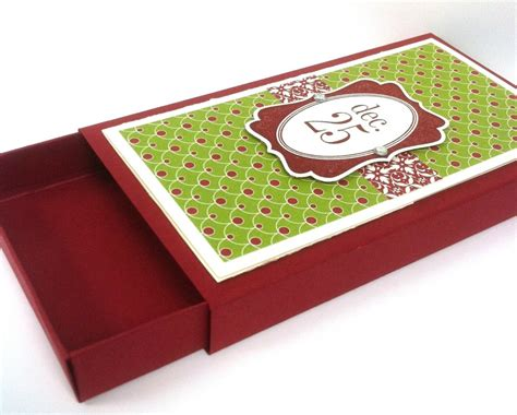 12 days of christmas in august day 7 christmas gift card box