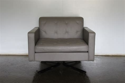 Rare 2 Sofa & Armchair Suite Of Poltrona Frau
