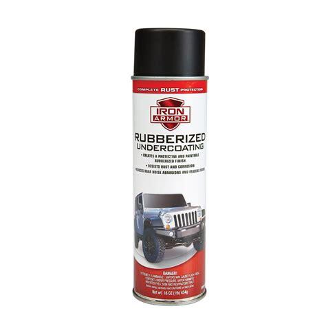 spray paint undercoating rubberized iron armor oz