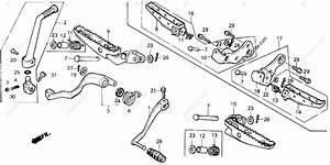 Honda Atv 1988 Oem Parts Diagram For Step