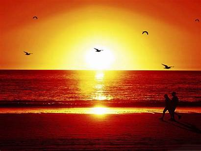 Sunset Beach Romantic Wallpapers Wallpapers13 Por Couple