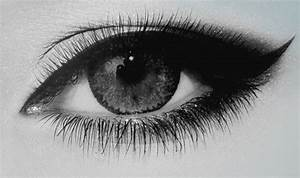 black and white, eyes, fashion, girl - image #535713 on ...
