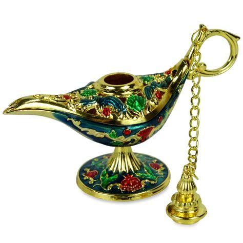 ornate aladin magic genie l oil l incense burner