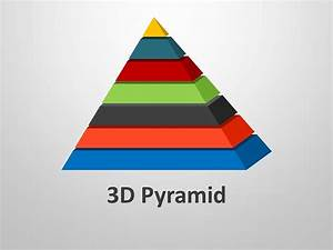 3D Pyramid Shapes - Editable PPT Template