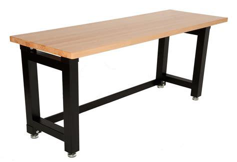 maxim workbench garage shed workshop steel wooden top ebay