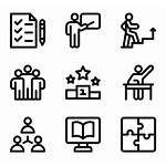 Training Icons Coaching Flaticon Vector Seo