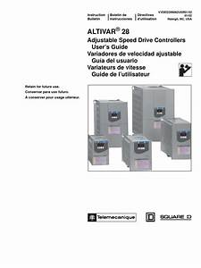 Altivar U00ae 28 Adjustable Speed Drive Controllers User Guide