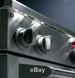 ge monogram  pro style dual fuel range  burner natural gas zdpndpss