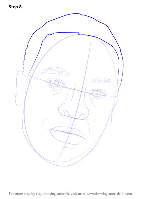 learn   draw dr dre rappers step  step drawing
