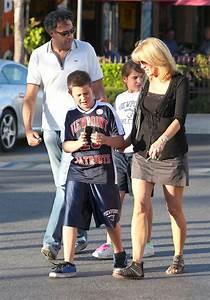 Brad Garrett in Brad Garrett And Family At The Calabasas ...