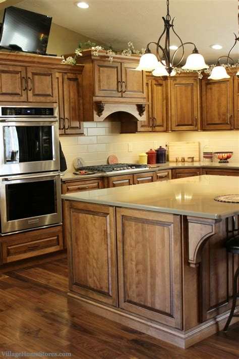 birch stained cabinets wood kitchen cabinets staining