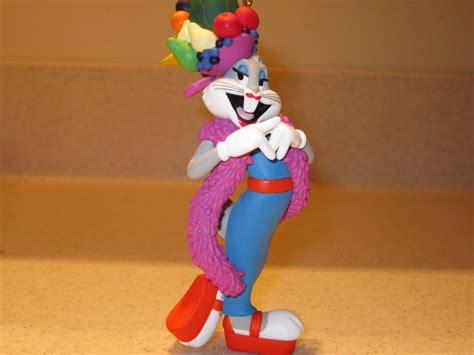 Bugs Bunny As Carmen Miranda Ornament