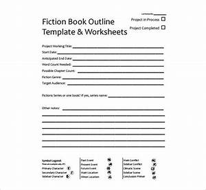 book outline template 9 free word excel pdf format With writing a book template word