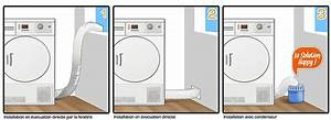Seche Linge Condensation Ou Evacuation : installation et accessoires ~ Melissatoandfro.com Idées de Décoration