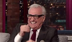 Martin Scorsese... Laughing Gif