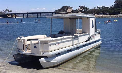 Pontoon Boat Rental Mission Bay by Rent The 30 Decker Pontoon Boat In San Diego