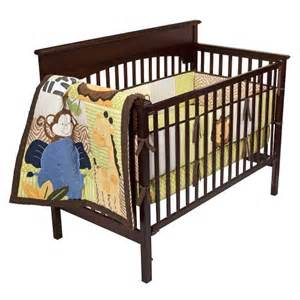 tiddliwinks safari friends 3pc baby bedding set green
