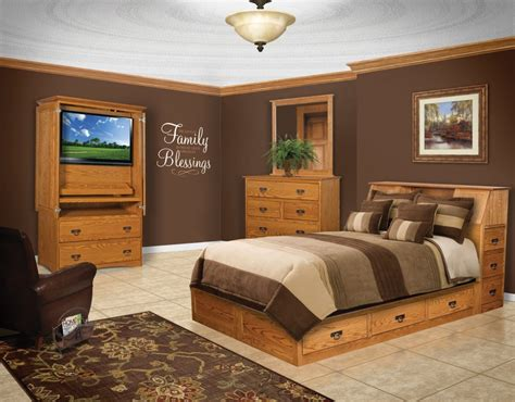 space saver mission bookcase pedestal queen bed amish traditions wv