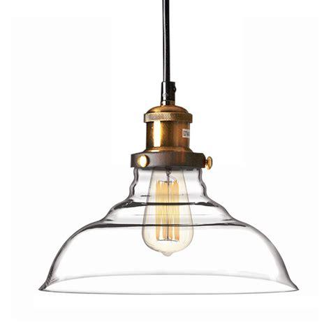 new diy led glass ceiling light vintage chandelier pendant