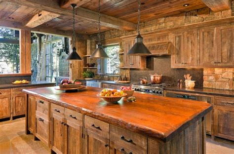 perfectly distressed wood kitchen designs home design
