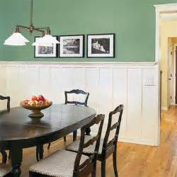 Wainscoting Dining Room Design
