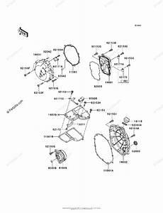 Kawasaki Motorcycle 2008 Oem Parts Diagram For Engine