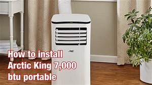 Arctic King 6 000 Btu Portable Air Conditioner Manual