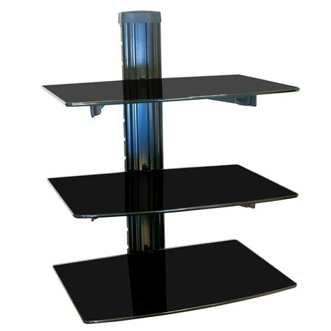 Regal Für Spielekonsolen by Hifi Glas Regal Wandhalterung Glasregal Wandregal Rack F 252 R