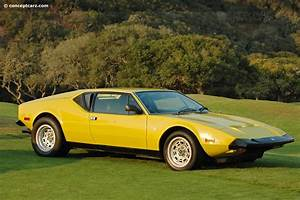 Auction Results And Sales Data For 1972 Detomaso Pantera