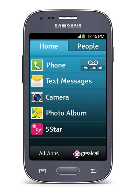 aarp smartphone greatcall jitterbug touch3 smartphone