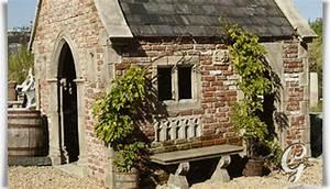 Fertighaus Aus Stein : stein pavillon f r den garten exford chapell ~ Frokenaadalensverden.com Haus und Dekorationen