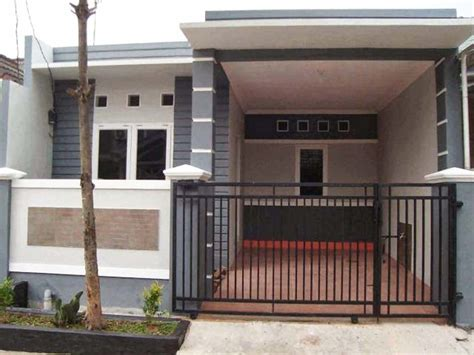 desain garasi mobil minimalis  pintu samping
