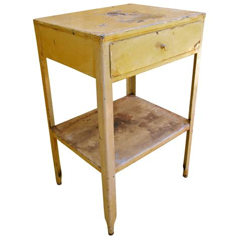 end table with l painted steel end table at 1stdibs